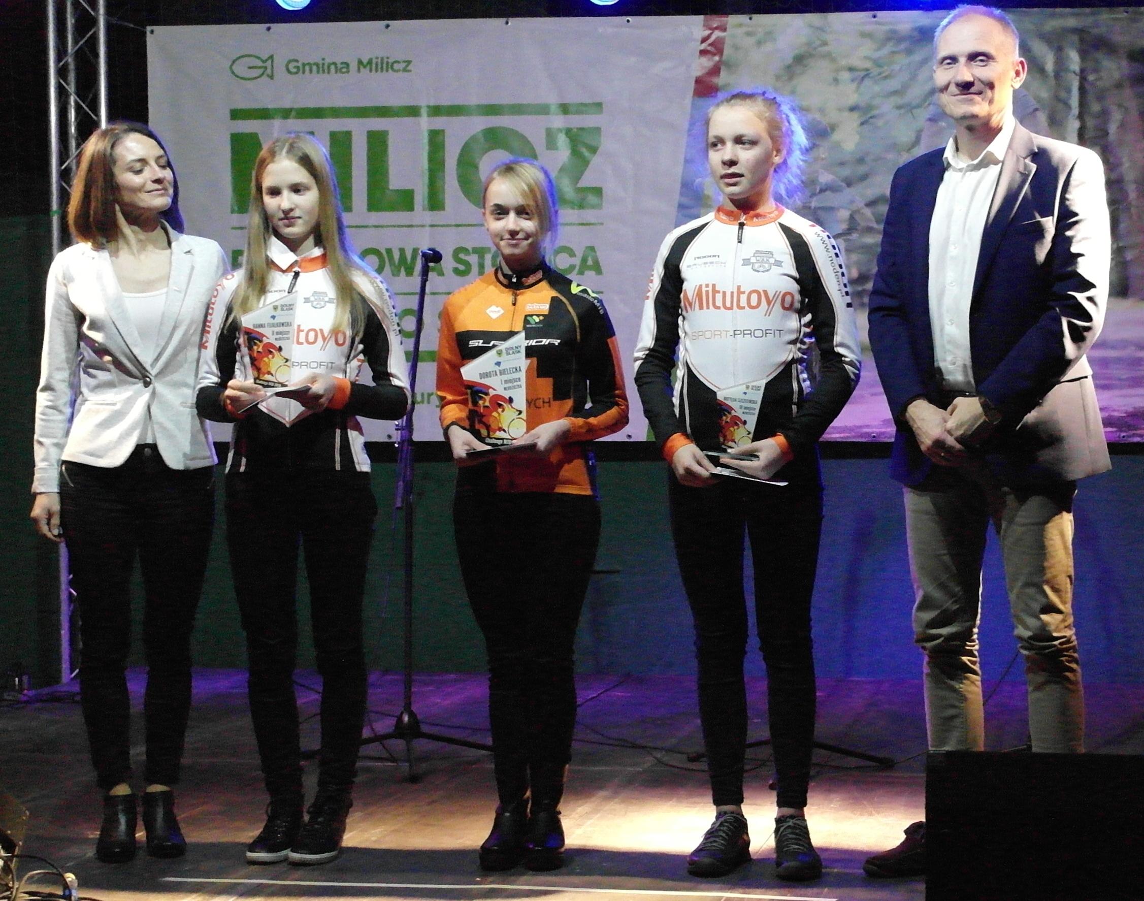 Hania i Matylda wśród najlepszych młodziczek na Dolnym Ślasku