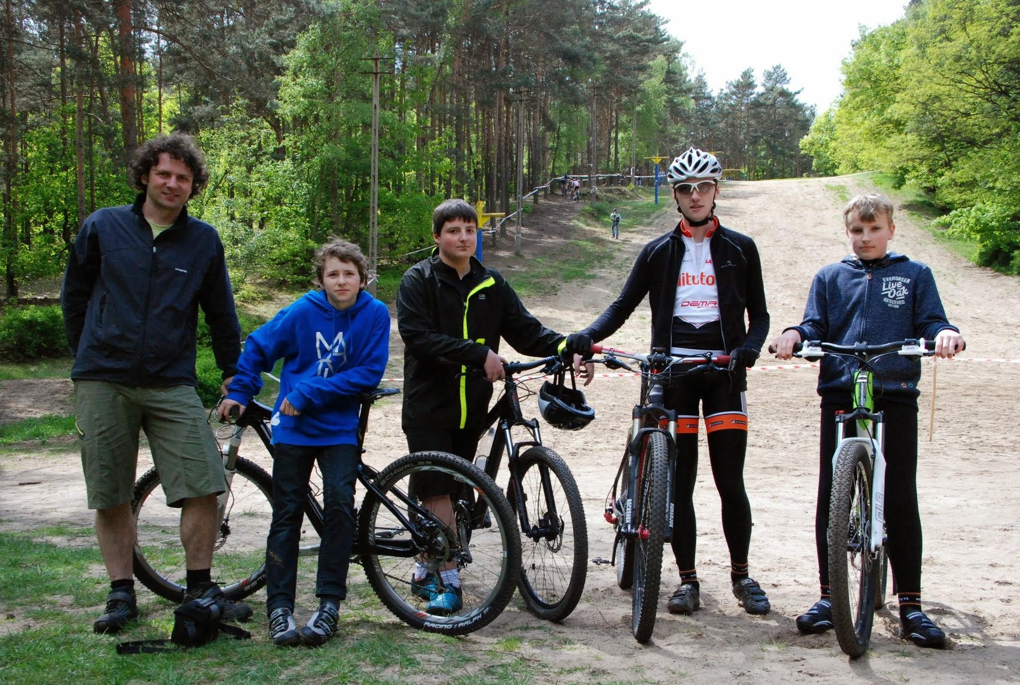Pierwszy grupowy młodzieżowy wyjazd na zawody XC Zielona Góra 2014