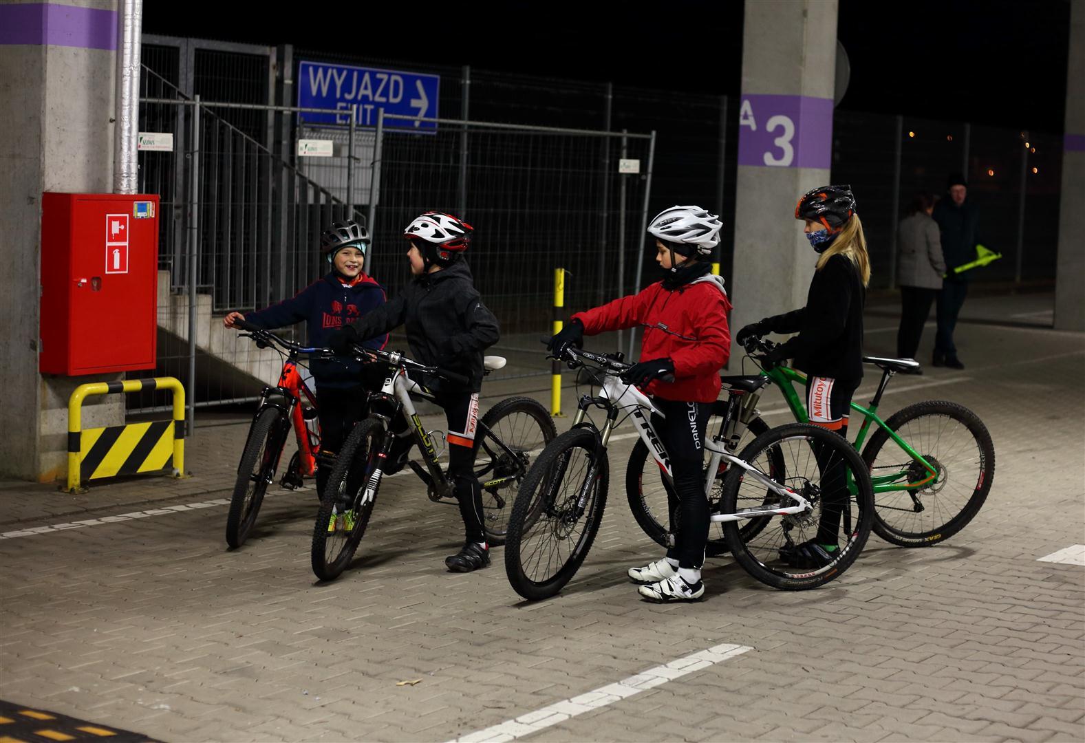 Autorskie zajęcia rowerowe na Stadionie Miejskim
